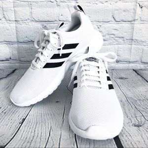 🆕 Adidas White Lite Racer Running Shoes Sneakers